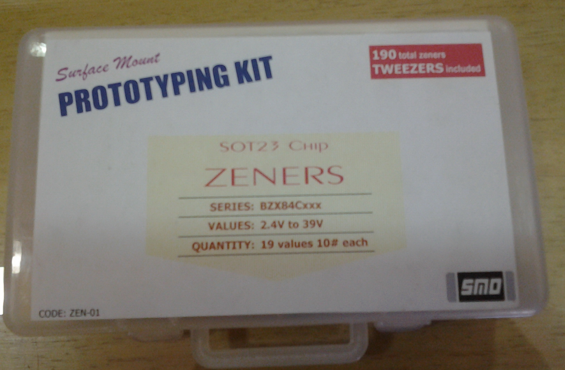 ZENER DIODE KIT SOT23 SMD-NZ | ComKey in - India's Online Electronic